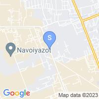 Расположение гостиницы Гранд Зарафшан на карте