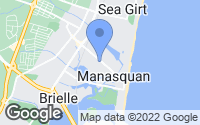 Map of Manasquan, NJ