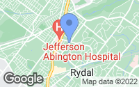 Map of Abington, PA