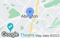 Map of Abington, PA