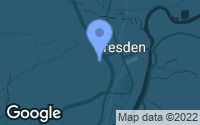 Map of Dresden, OH