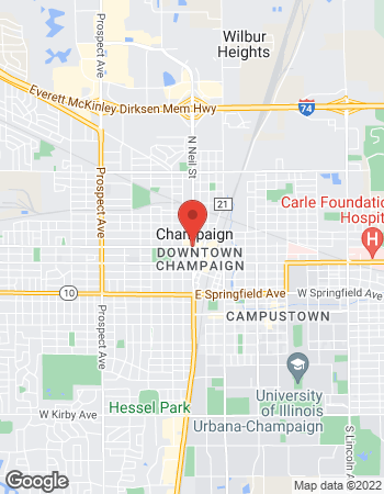 Map of Chad Altadonna - TIAA Wealth Management Advisor at 301 North Neil Street, Champaign, IL 61820