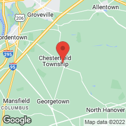 Chesterfield Baptist Church on the map