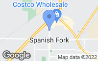 Map of Spanish Fork, UT