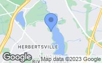 Map of Brick Township, NJ