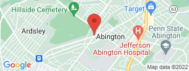 Map of Banh Street Abington