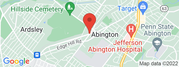 Map of Banh Street - Abington