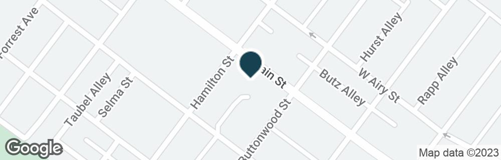 Google Map of1100 W MAIN ST