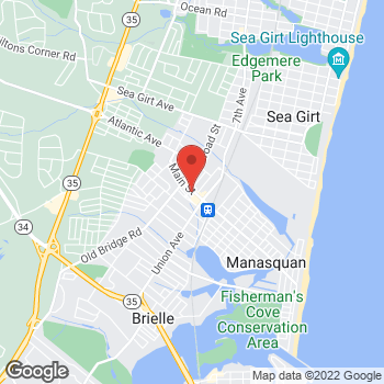 Map of Rite Aid at 149 Main Street, Manasquan, NJ 08736