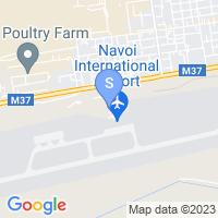 Расположение гостиницы Силк Роуд Палас на карте