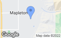 Map of Mapleton, UT