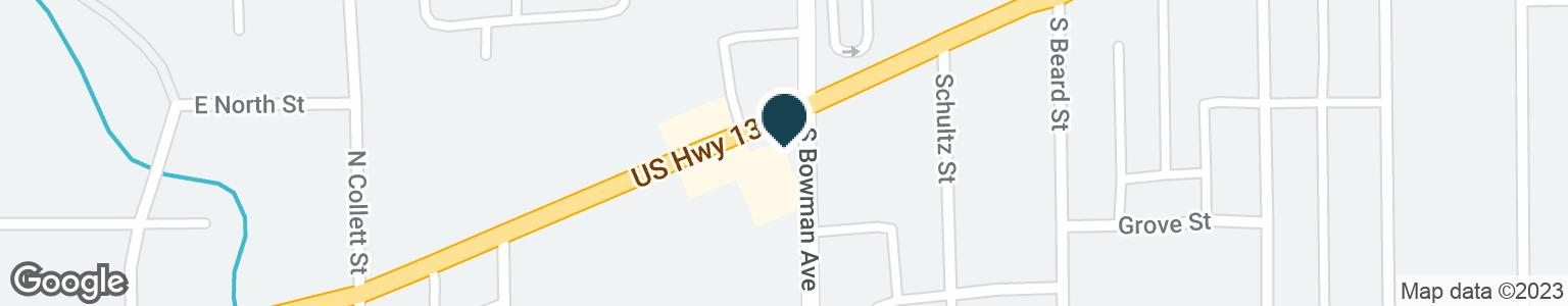 Google Map of842 E MAIN ST