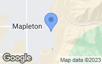Map of Mapleton, UT