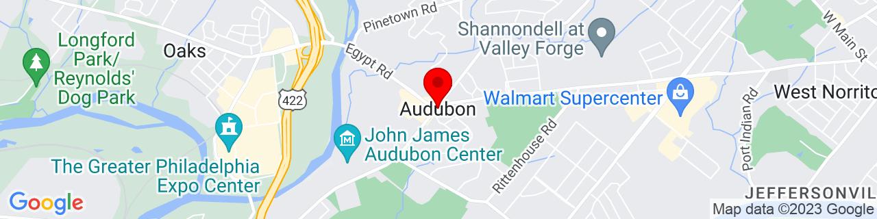 Google Map of 40.12788390000001, -75.43185319999999
