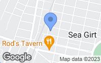 Map of Sea Girt, NJ