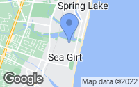 Map of Sea Girt, NJ