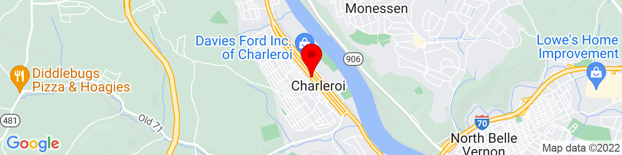 Google Map of 40.1389831, -79.899393