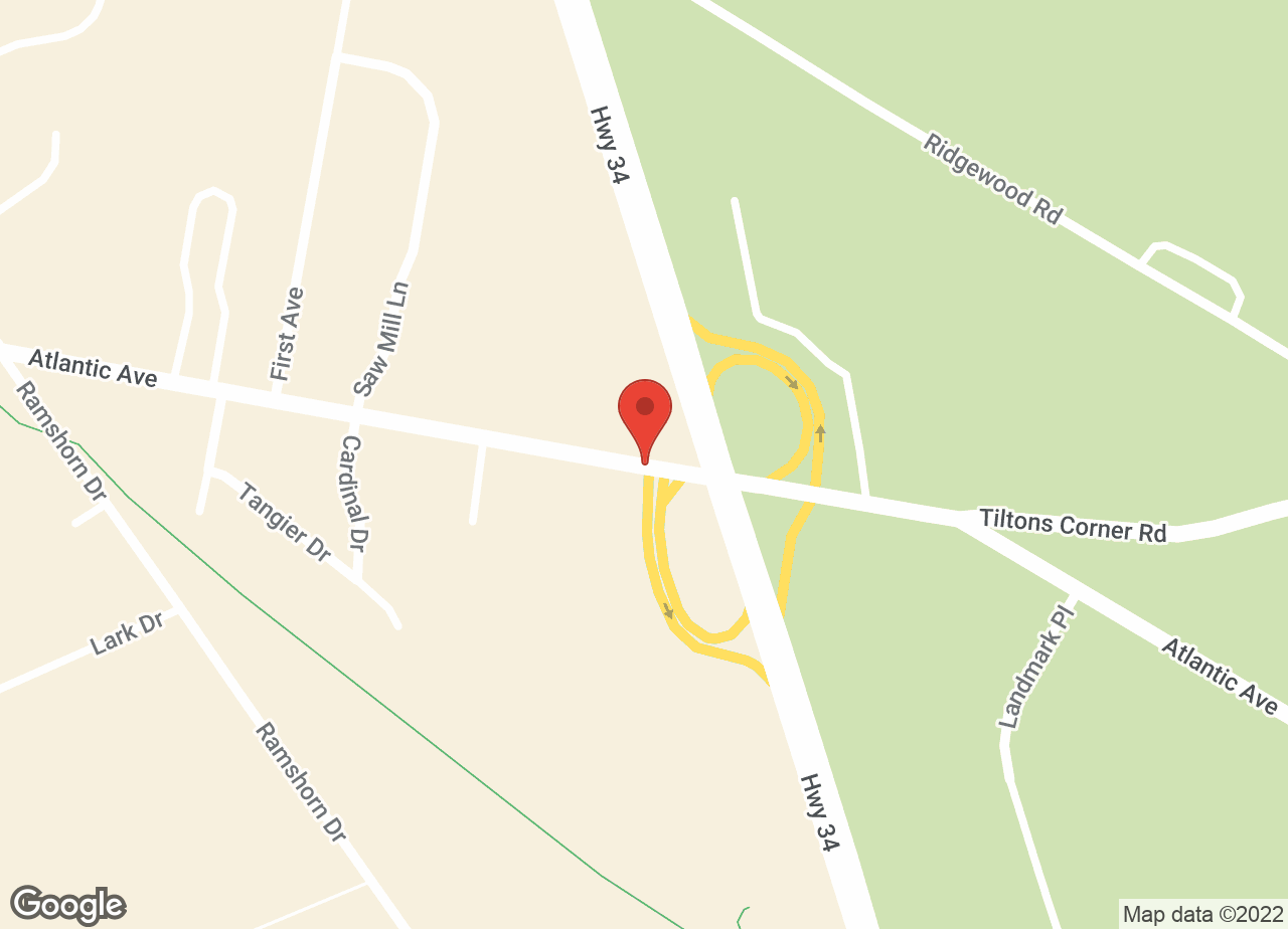 Google Map of Allenwood Animal Hospital