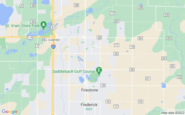 Firestone on the map