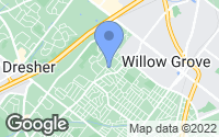 Map of Willow Grove, PA