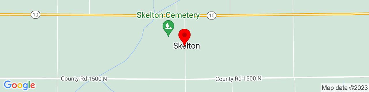 Google Map of 40.1428193, -89.2539798