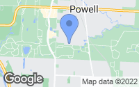 Map of Powell, OH