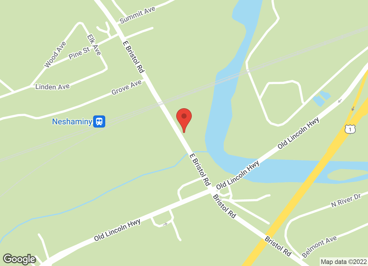 Google Map of VCA Neshaminy Animal Hospital