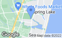 Map of Spring Lake, NJ