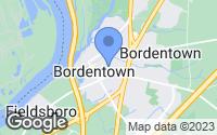 Map of Bordentown, NJ