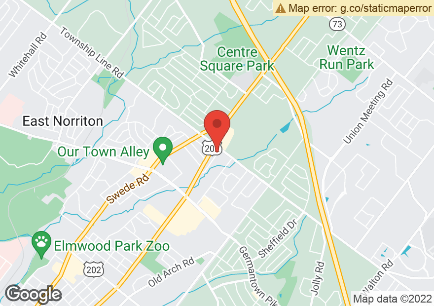 Google Map of 3300 DEKALB PIKE