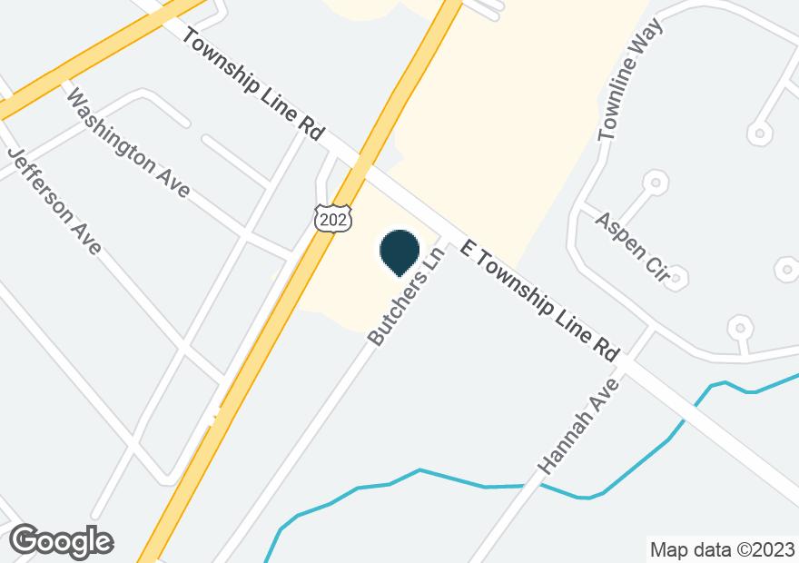Google Map of3300 DEKALB PIKE
