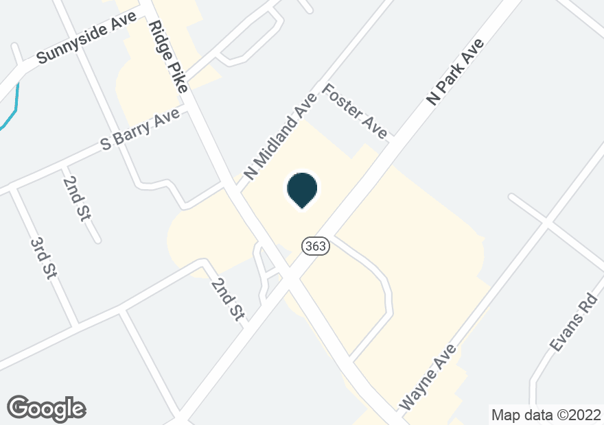 Google Map of2803 W MAIN ST