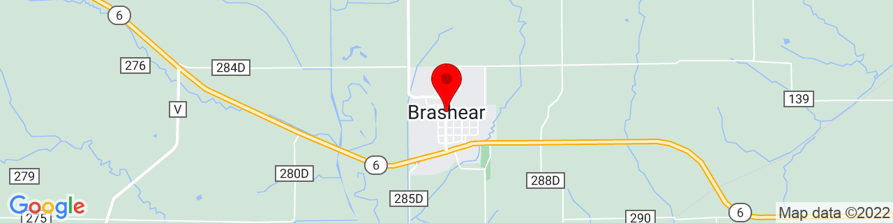 Google Map of 40.1489249, -92.37907709999999