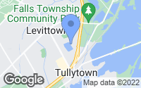 Map of Levittown, PA