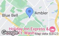 Map of Ambler, PA