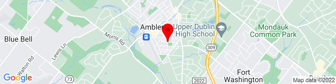 Google Map of 40.1515872, -75.2174452