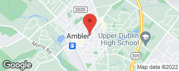 Map of 208 Lindenwold Ave in Ambler