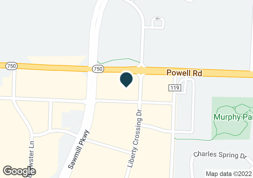 Google Map of9669 SAWMILL PKWY