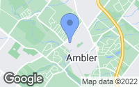 Map of Ambler, PA