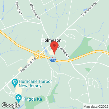 Map of Sunglass Hut at 537 Monmouth Rd, Jackson, NJ 08527