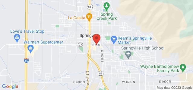 Springville Floral & Gift Map