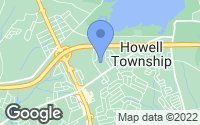 Map of Howell Township, NJ