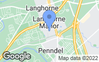 Map of Langhorne, PA