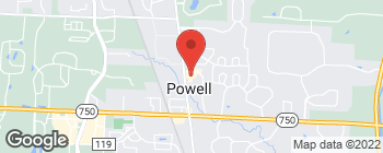 Map of 28 Grace Dr in Powell