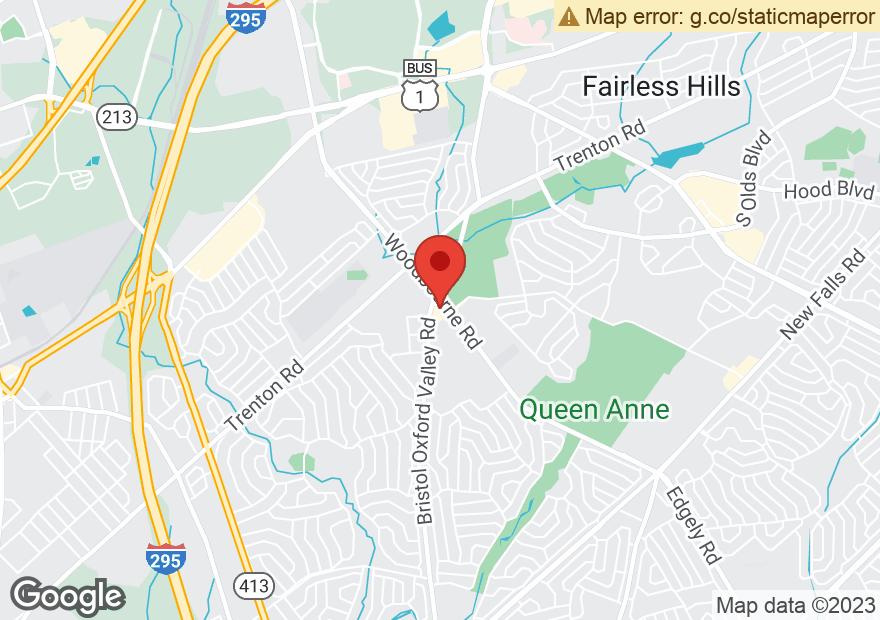 Google Map of 1211 BRISTOL OXFORD VALLEY RD