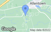 Map of Allentown, NJ