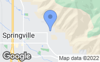 Map of Springville, UT