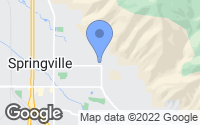 Map of Springville, UT