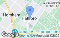 Map of Hatboro, PA