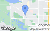 Map of Longmont, CO